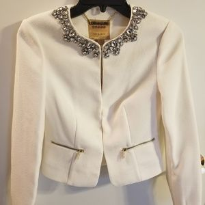 Ted baker cream jacket